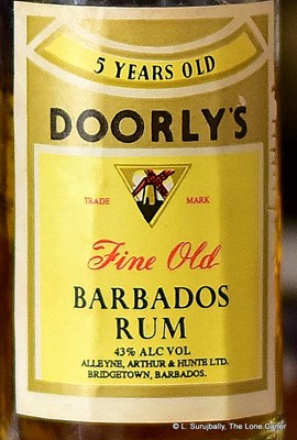 Doorly's 5 YO Fine Old Barbados Rum